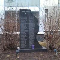 Памятник на территории БЦ «Мирлэнд» в Москве на 2-ой Хуторской